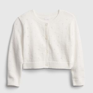 🌸2 for $25🌸 Gap baby heart pointelle cardigan